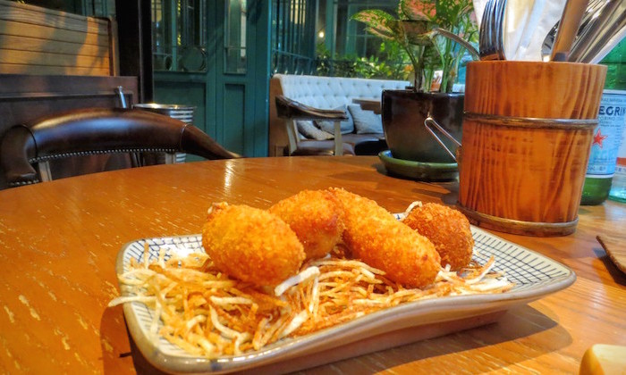 The Optimist: appetisers in wan chai