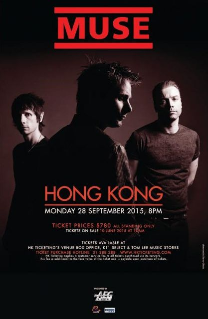 Muse Live in Hong Kong