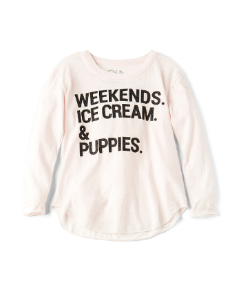 Graphic tees for toddlers: Chaser by Revolve Kids
