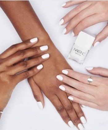 nail trends, white
