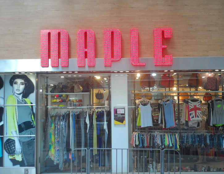 maple - where to shop for teenagers