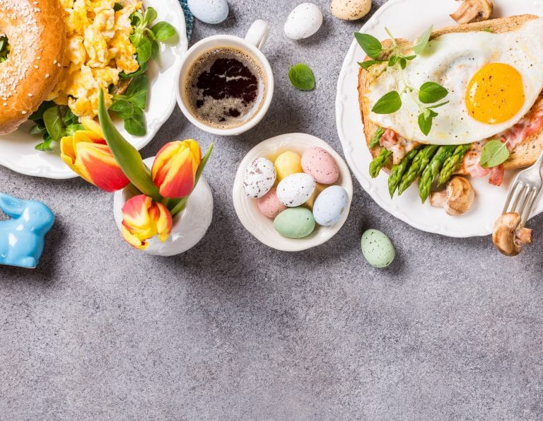 Easter holiday meals