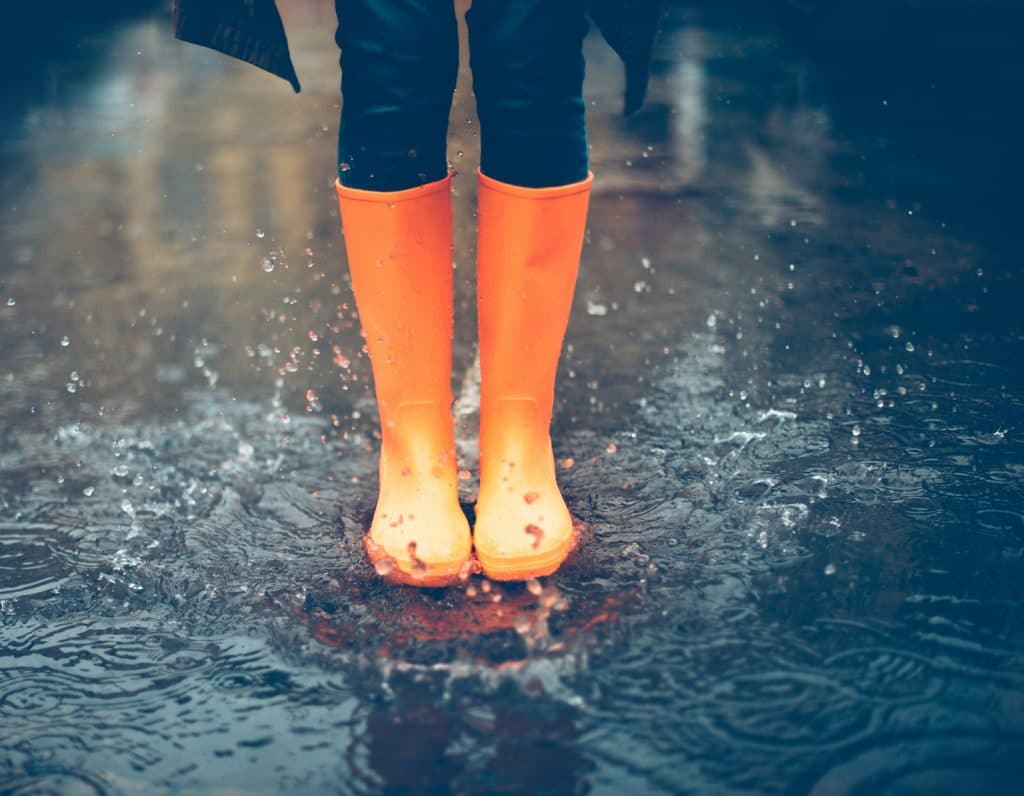 Rainy Day waterproof boots