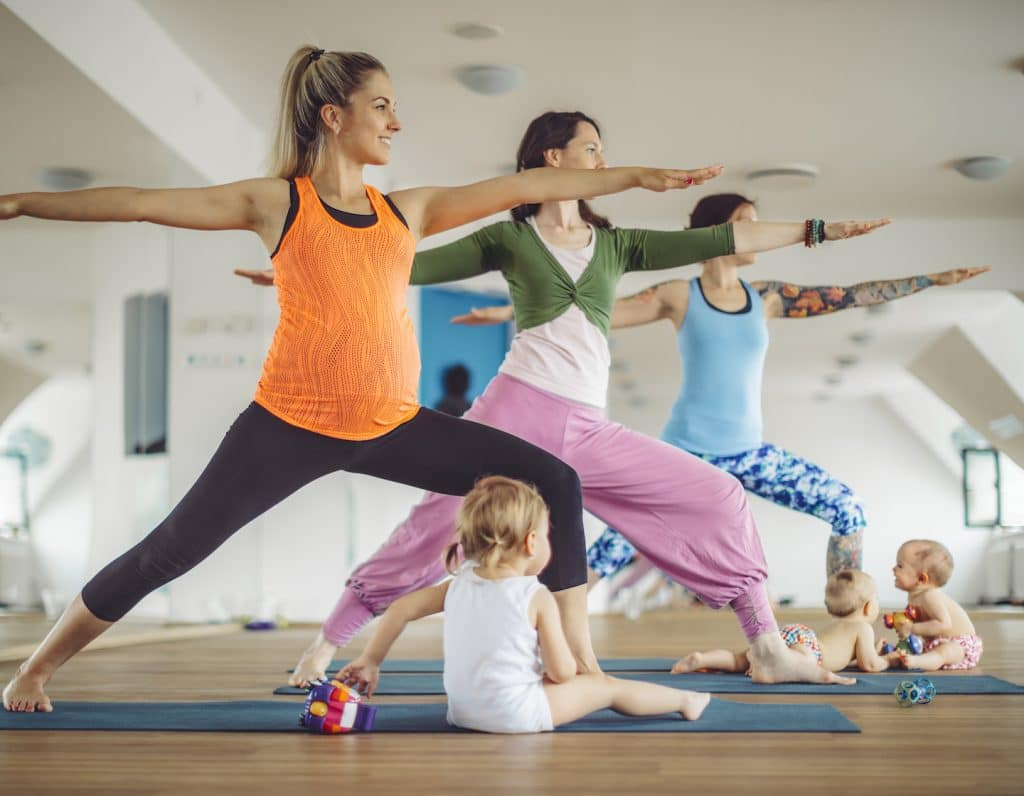 Postnatal fitness classes