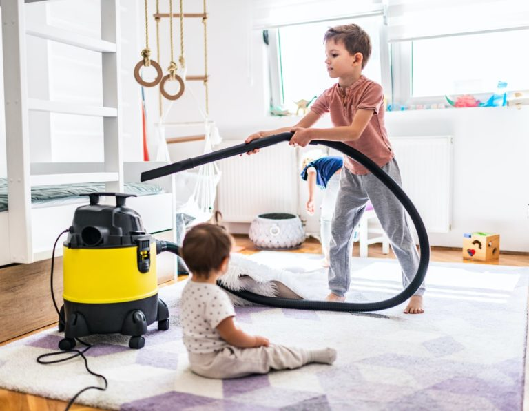 Fun cleaning ideas with kids