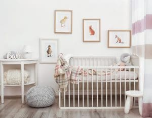 nursery decoration on a budget