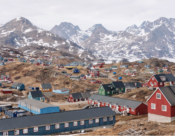 travel worldwide family destinations Greenland