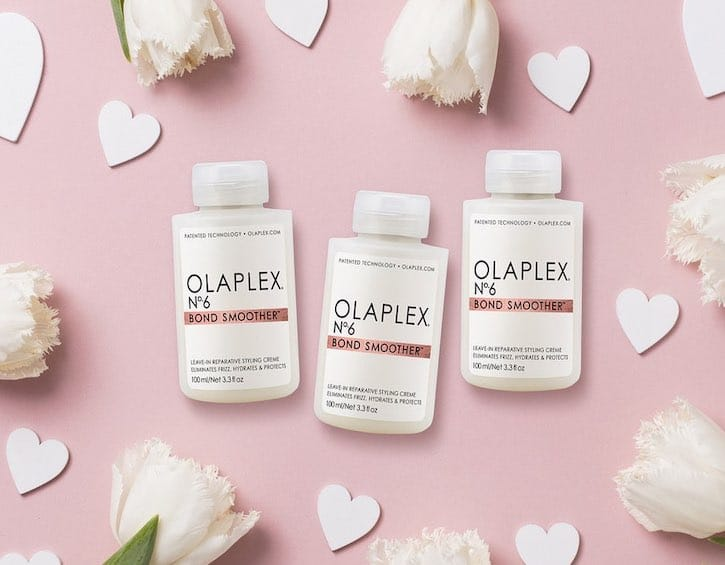beauty frizz fighting products olaplex bond smoother