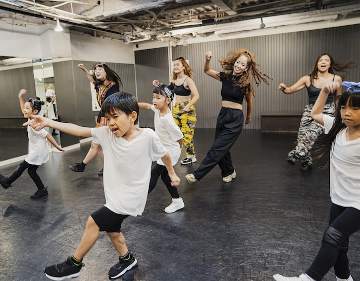learn dance classes for children in Hong Kong