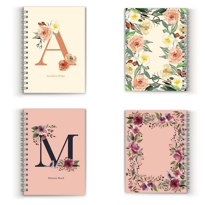 pen paper monogramed journal mothers day gift guide whats on