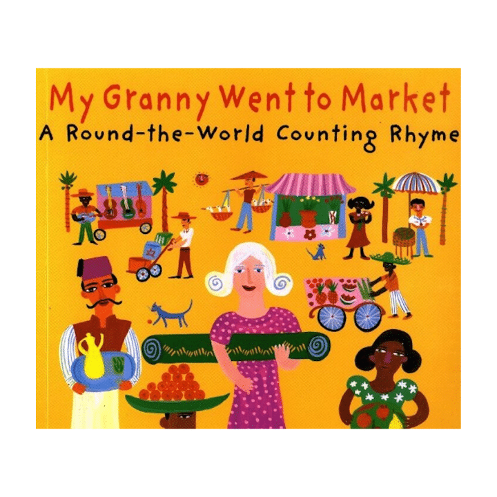 granny went to market kids travel books