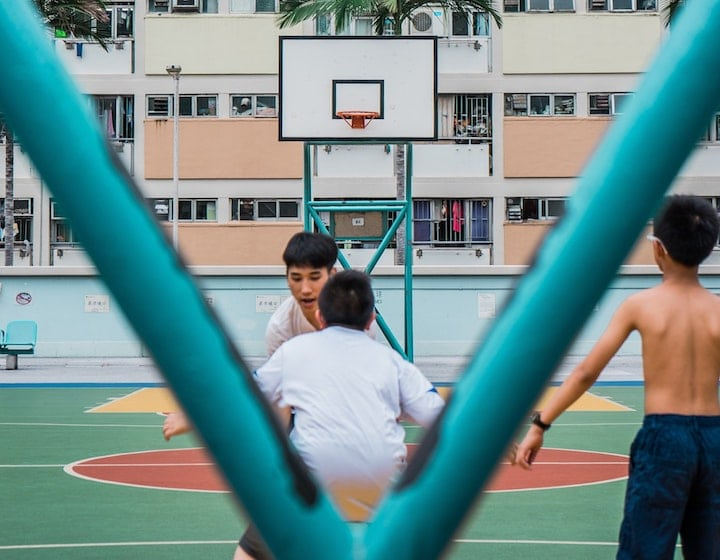 sports classes for kids in Hong Kong basketball