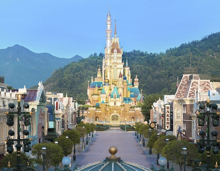 castle Hong Kong disneyland travel