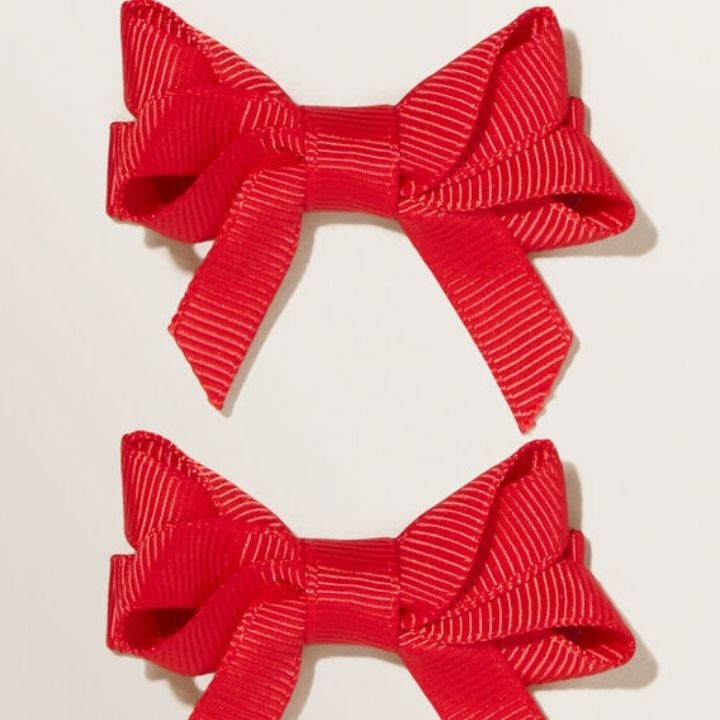Double Grosgain Bows
